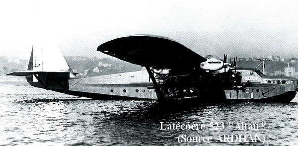 Latecoere 523 Altair a l escadrille E6