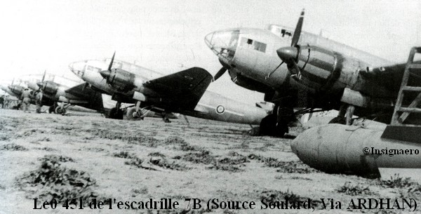 LeO 451 de l escadrille 7B