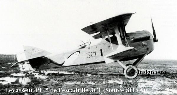Levasseur PL 5 de l escadrille 3C1