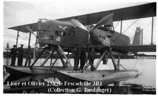 Liore et Olivier 258 de l escadrille  3B1