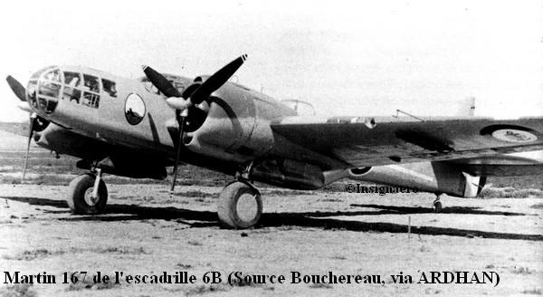 Martin 167 de l escadrille 6B