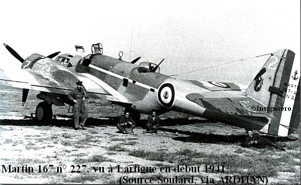Martin 167 de l escadrille 7B