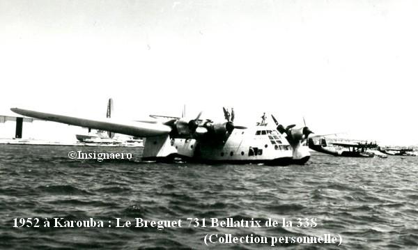 1952 a Karouba le Breguet 731 Bellatrix