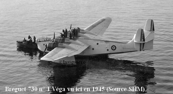 Hydravion Breguet 730 Vega de la 9F Tr
