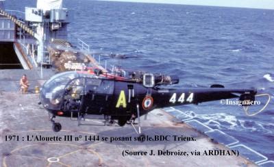 Photo Alouette III n   1444 de la SectAlpac