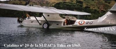 Photo Catalina n   20 de la SLPAC a Taku en 1965