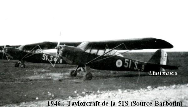 51S et Taylorcraft