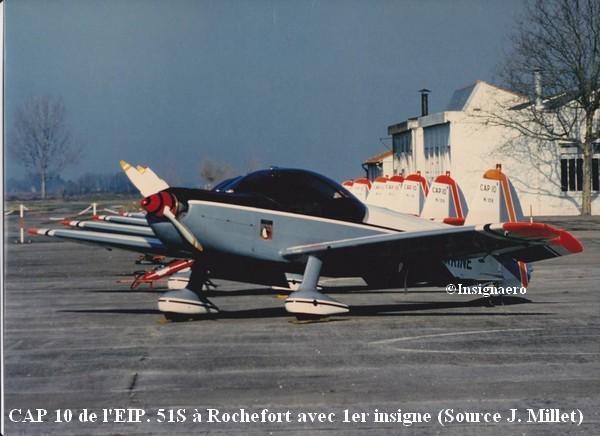 CAP 10 de l EIP. 51S a Rochefort avec 1er insigne