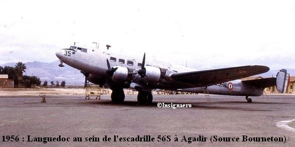 Languedoc de la 56S a Agadir