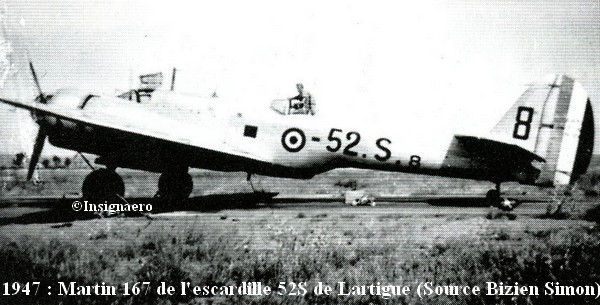 Martin 167 de la 52S EPV