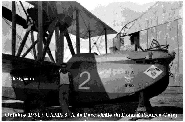 CAMS 37A de l escad. du Donna