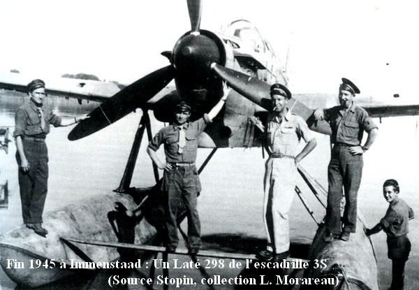 Immenstaad fin 1945  late 298 de la 3S