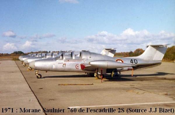 MS 760 de la 2S en 1971