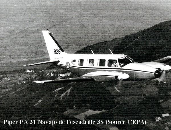 Piper PA 31 Navajo de la 3S
