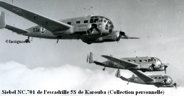 Siebel NC.701 de la 5S de Karouba