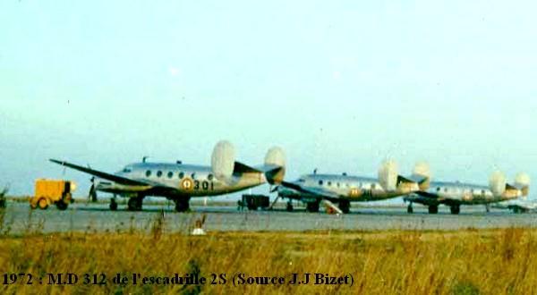 Trois MD 312 de la 2S