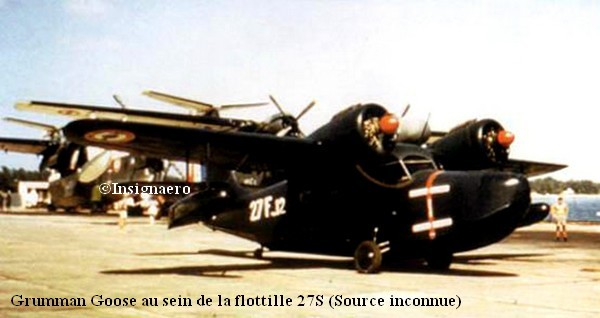 27F et ses Grumman Goose