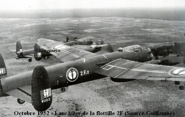 Cliche Lancaster de la 2F