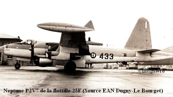 P2V7 Neptune de la flottille 25F vu a Dugny