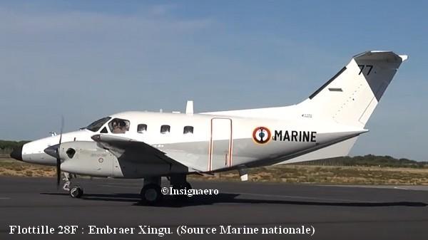 Xingu Embraer de la 28F