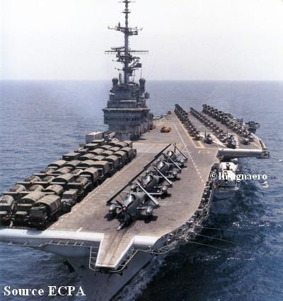 P.A Clem lors de la guerre du Golfe