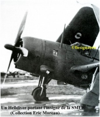 Photo avion Helldiver de la SMER