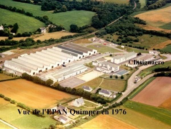 Vue de l EPAN Quimper en 1976