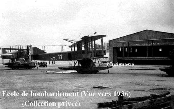 Ecole des bombardiers vers 1936. Photo privee