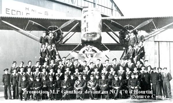 Photo de la promotion de pilotes MP Gauthier