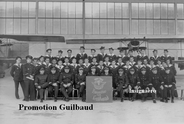 Photo de la promotion de pilotes aero Guilbaud