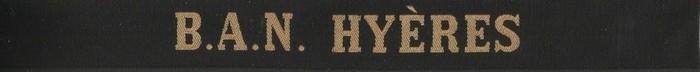 Ruban legende BAN Hyeres
