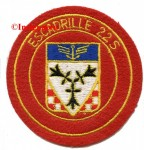 9.  Patch escadrille 22S 1