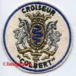 1A.  Patch Croiseur Colbert d apres guerre 2