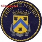 1.  Patch fregate FORBIN 1