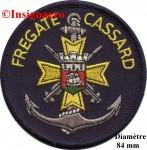1.  Patchs fregate A.A Cassard 1
