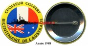 12.  Cr Colbert rond plastifie Bicentenaire Australie 1