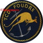2.  Patch TCD Foudre avec le kangourou