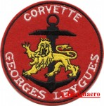 20.  Patch corvette Georges Leygues