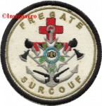 2B.  Patch fregate Surcouf 3
