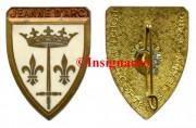 3.  Jeanne d Arc ecu courtois avec mention P.H au dos
