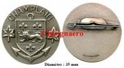 31.  BATRAL Champlain rondache diametre 35 mm