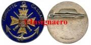 34.  Corvette Cassard rondache FIA fond bleu