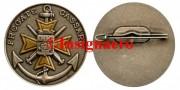 37.  Fregate Cassard rondache FIA avec croix jaune
