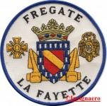 38.  Patch fregate Lafayette 1