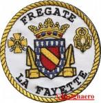 38B.  Patch fregate Lafayette 3
