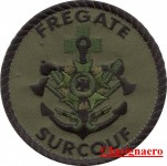 39A.  Patch fregate Surcouf 2