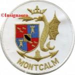 3B.  Patch fregate Montcalm 3