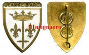 4.  Jeanne d Arc ecu Drago metal