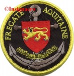 45.  Patch fregate Aquitaine 1