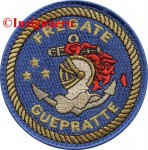 4C.  Patch Fregate Guepratte 4